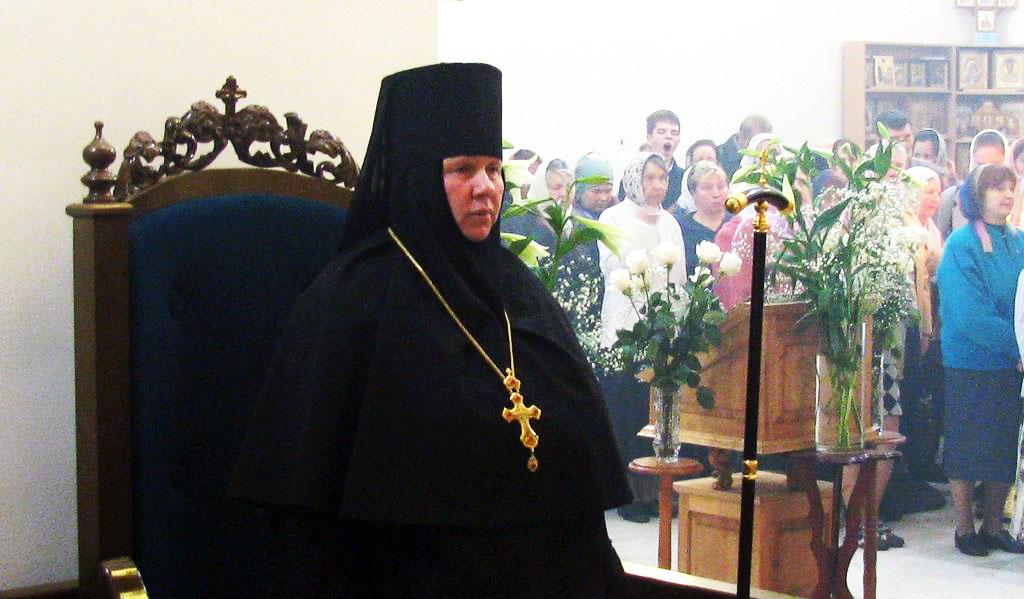 Патриаршее поздравление игумении Антонии (Корнеевой) с 55-летием со дня рождения