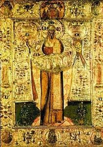 Середник иконы свт. Евфимия