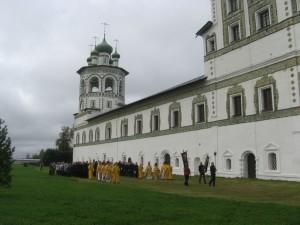 Крестный ход в честь 600-летия монастыря